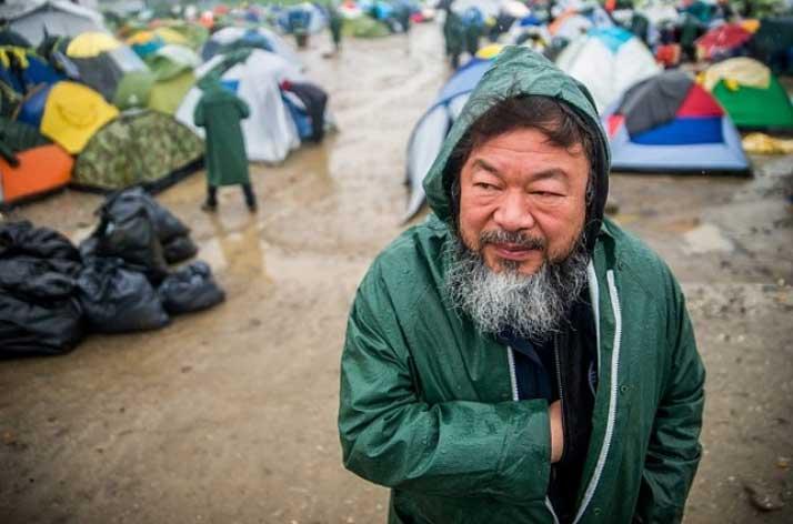 Ai Weiwei belgeseline polis müdahalesi