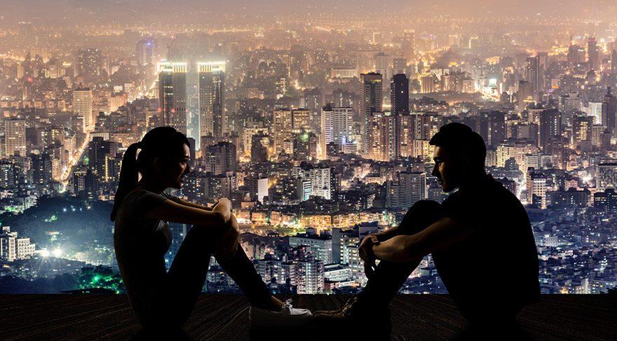 Şehir yaşamı aşkı zorlaştırıyor
