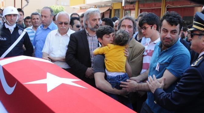 Şehit polis memuru Osman Bodur, Giresun'da toprağa verildi