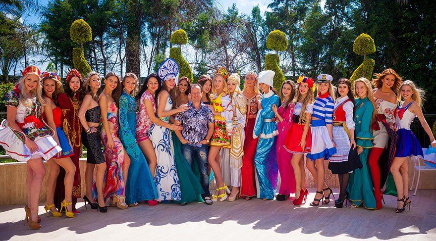 Antalya Miss Eurasia Güzellik Yarışmasının finalistlerini ağırlıyor