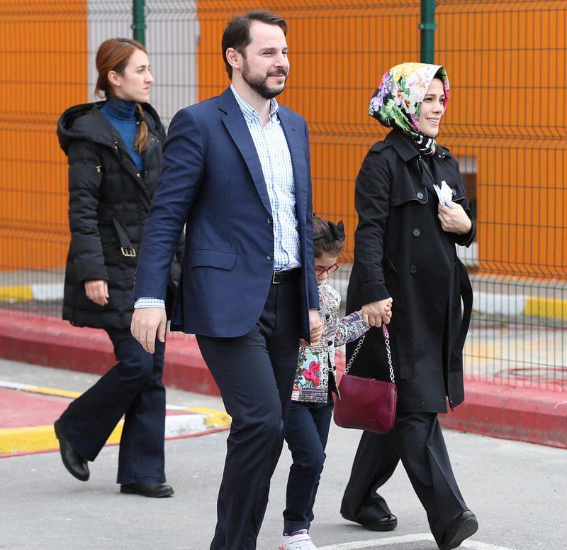 FOTO:DHA - Berat Albayrak, Cumhurbaşkanı Erdoğan'ın büyük kızı Esra ile 2004 yılında evlenmişti.
