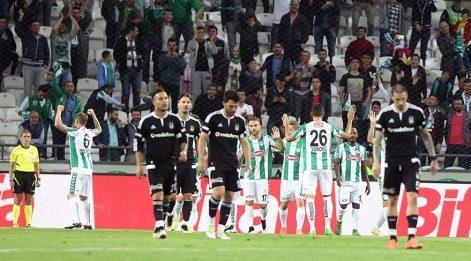 Torku Konyaspor Beşiktaş maç özeti: Şampiyon ligi mağlup kapattı!