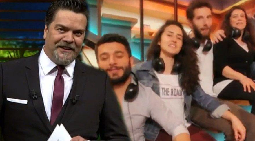 Beyaz Show ekibinden Beyazıt Öztürk'e sürpriz 'Bağdat' klibi