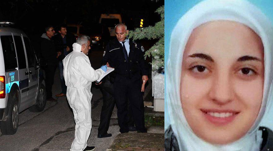 FOTO: DHA / Eşini kalbinden tabancayla vurarak öldüren Gamze Tosun gözaltına alındı.