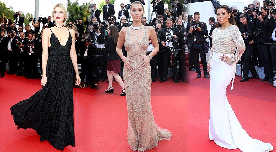 69. Cannes Film Festivali kırmızı halı görünümleri