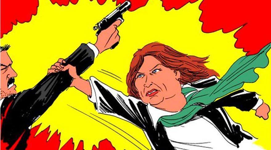Latuff, Dilek Dündar'ı çizdi