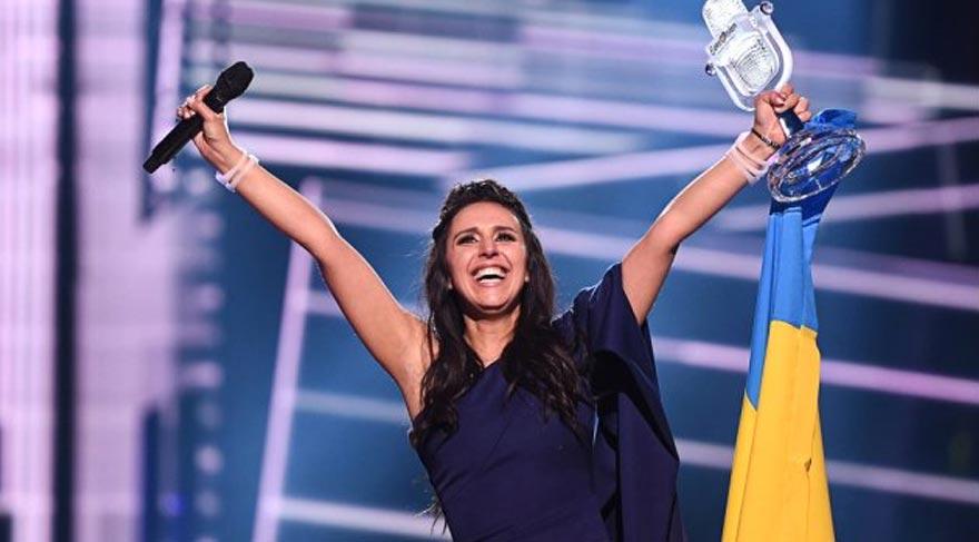 Eurovision'un şampiyonu Kırımlı Cemile oldu