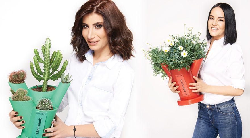 Magazin dünyasının ünlüleri çiçek festivalinde