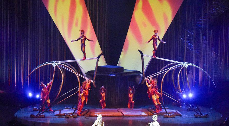 Cirque du Solei Varekai ile geri dönüyor