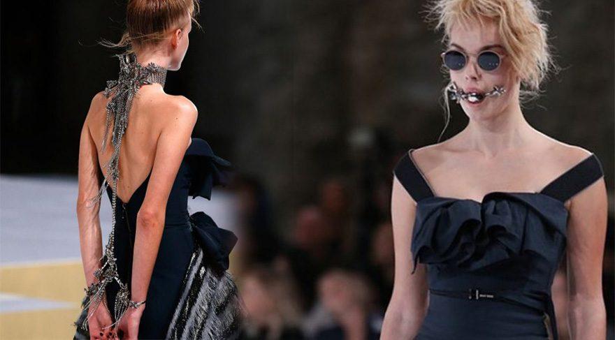 Moda haftasında 'Grinin 50 Tonu' teması