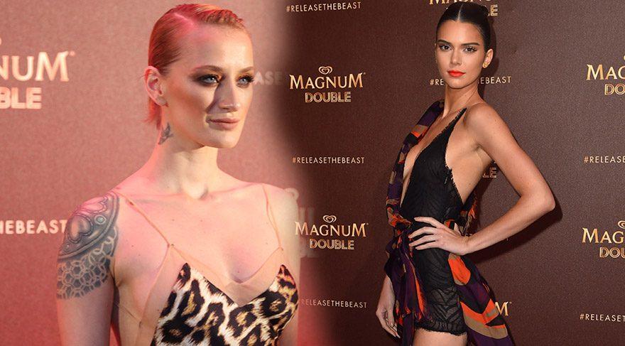 Kendall Jenner ve Didem Soydan Cannes'da göz kamaştırdı