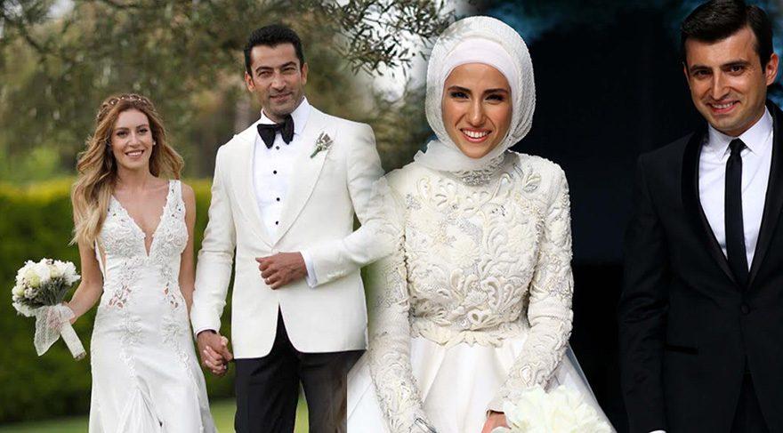 Sinem Kobal, Ezgi Eyüboğlu ve Sümeyye Erdoğan'ın düğün stili