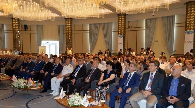 5'nci Ulusal Lojistik ve Tedarik Zinciri Kongresi Mersin'de başladı