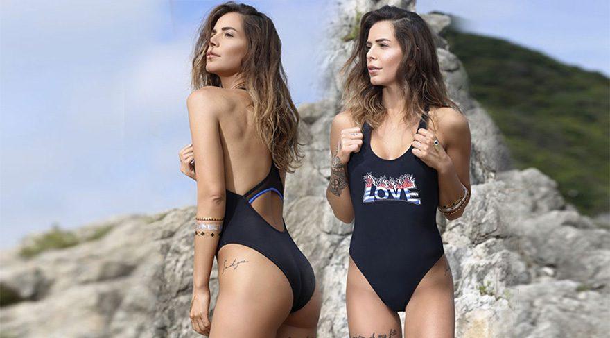 Eliz Sakuçoğlu'nun plaj giyim koleksiyonu satışa çıktı