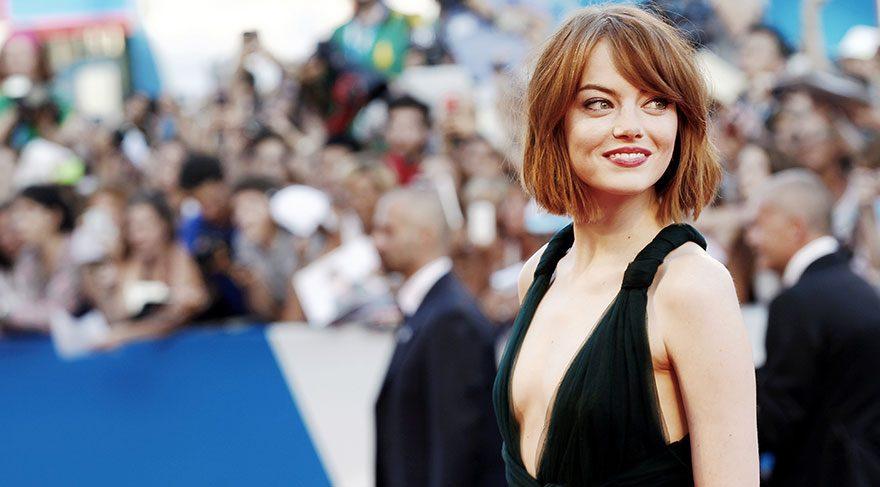 Emma Stone rolü için yaşlandı