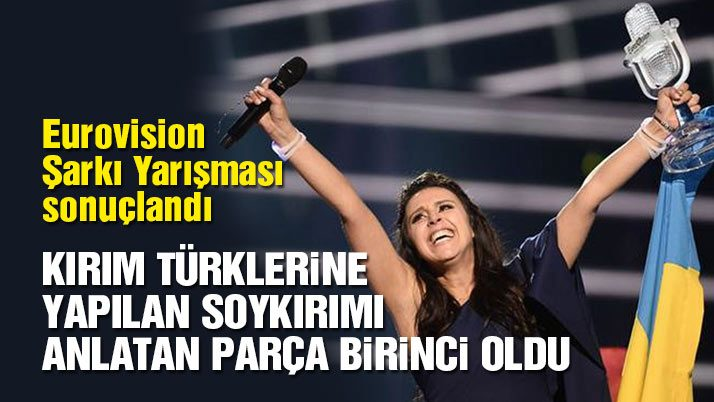 Eurovision birincisi belli oldu