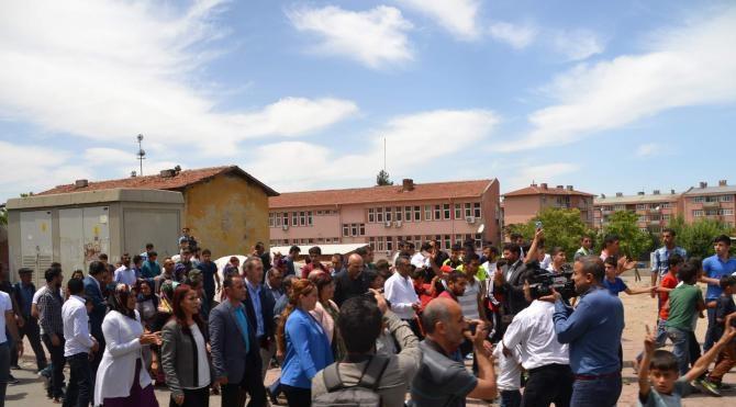 Siirt'te yürüyüşe polis müdahalesi