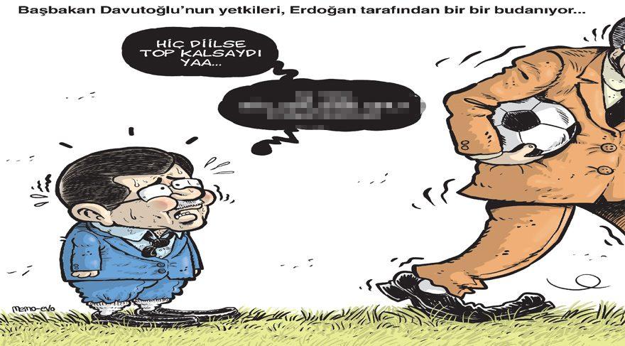 Gırgır'ın kapağında yetkilerini kaybeden Başbakan var