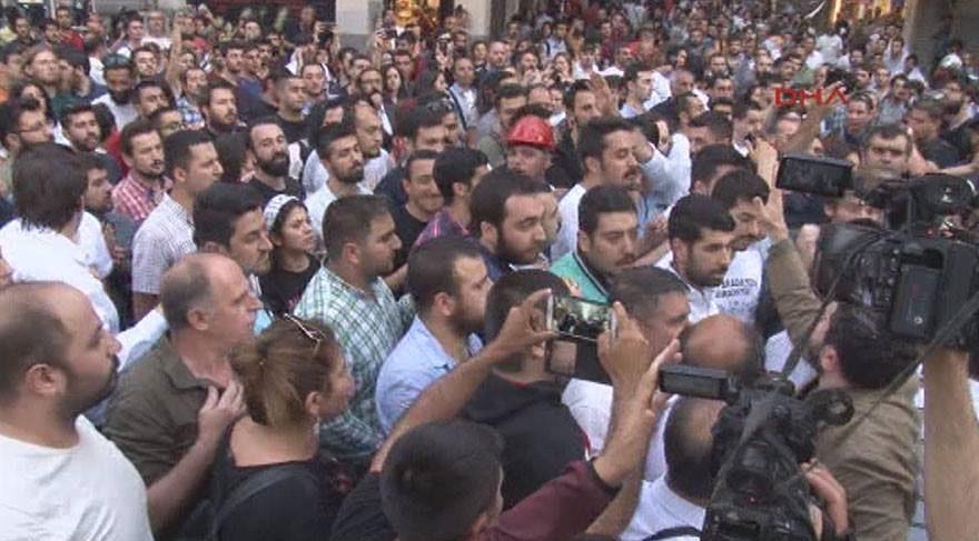 Taksim'deki Gezi eylemine polis müdahalesi