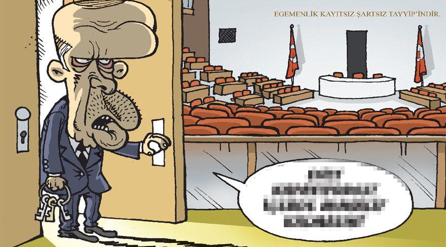 Gırgır kapağına Başbakan seçimini taşımış