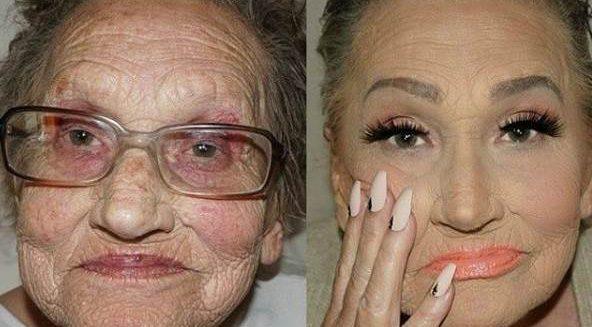 80 yaşındaki babaannenin inanılmaz değişimi