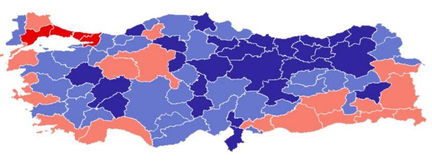 Türkiye'nin il il büyüme hızı…