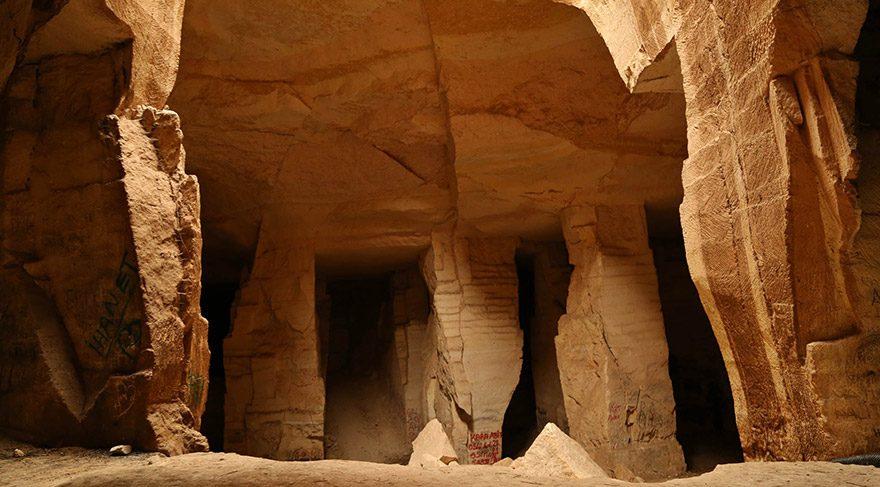 Harran'a gidip Bazda Mağaralarını görmeden gelmeyin.