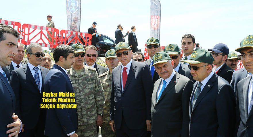 Erdoğan damadı Bayraktar'dan İHA hakkında bilgi aldı