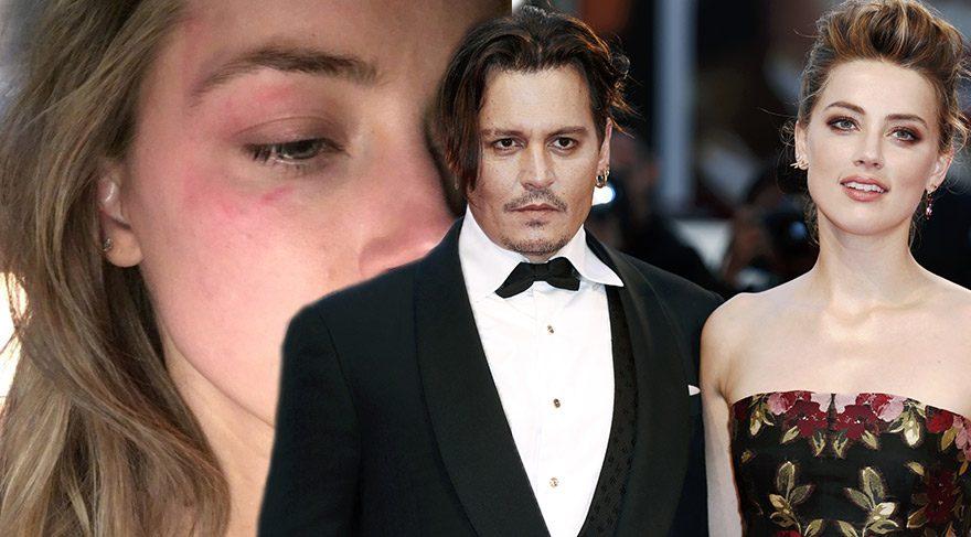 Johnny Depp hakkında şok iddia: Bana şiddet uyguladı