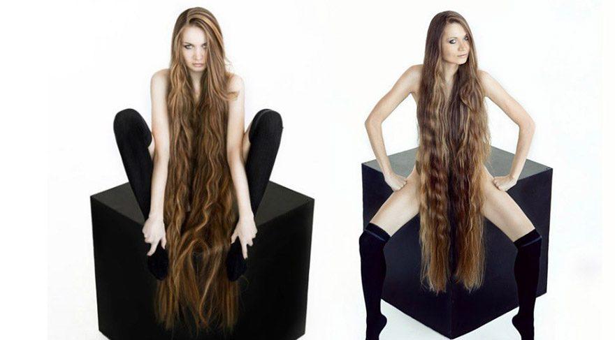 Dashik Gubanova 13 yıldır saçlarını kestirmiyor