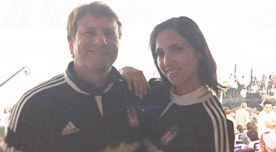 Kaya Çilingiroğlu kızı Zehra ile Beşiktaş'ın şampiyonluk kutlamalarından paylaşımda bulundu