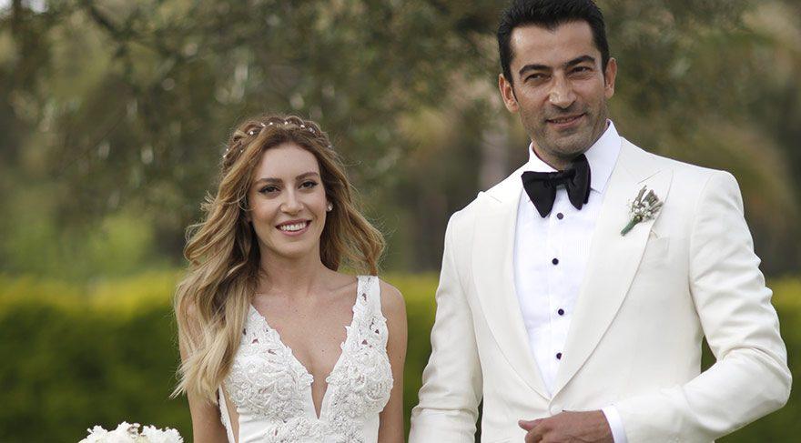 Kenan İmirzalıoğlu ve Sinem Kobal masal gibi bir düğünle evlendi