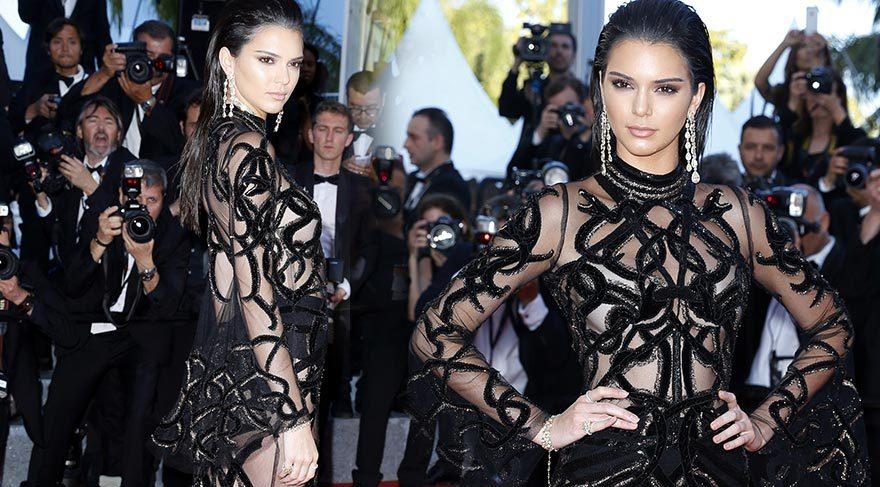 Kendall Jenner Cannes Film Festivali görünümü