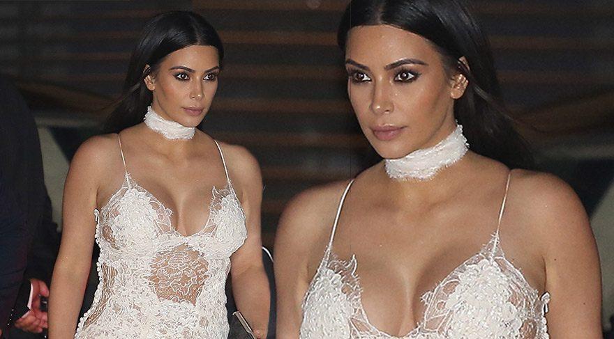 Kim Kardashian doğumdan sonra ilk kez bu kadar iddialı