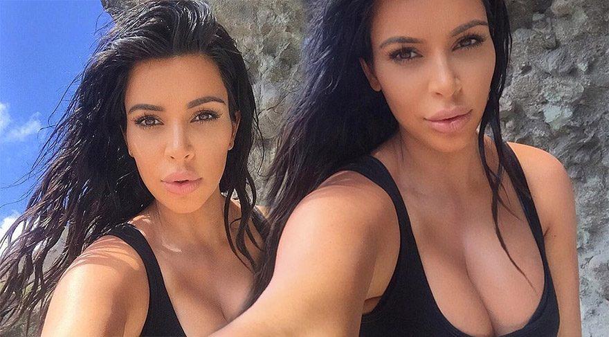Kim Kardashian'ın yeni makyaj favorisi non-touring