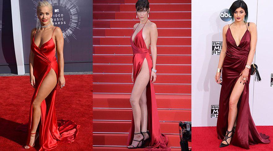 Bella Hadid, Rita Ora ve Kylie Jenner ile pişti oldu