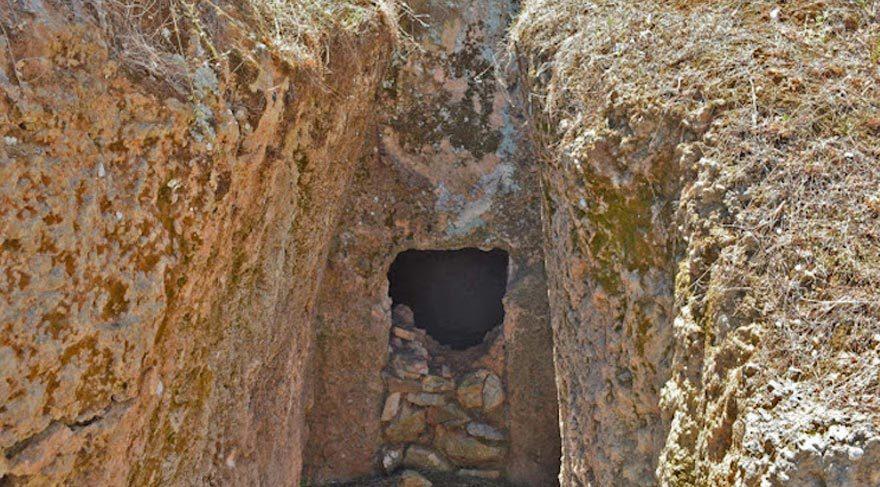 Yunanistan'da yeni Miken mezarları ortaya çıktı