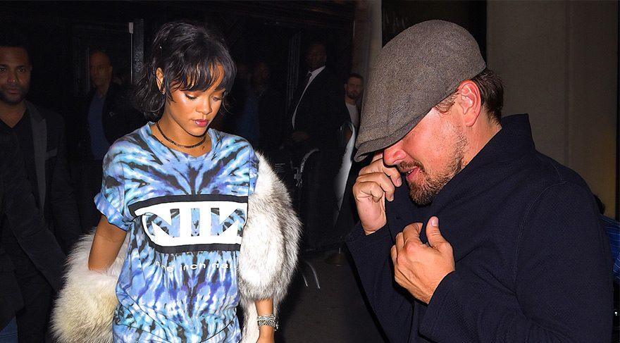 Leonardo DiCaprio ve Rihanna birlikte eğlendi
