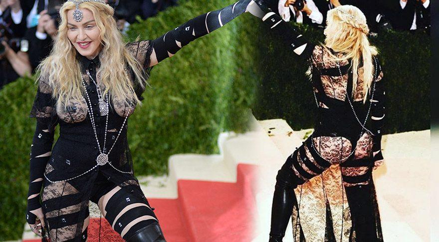 Madonna'dan seksi kıyafetine açıklama