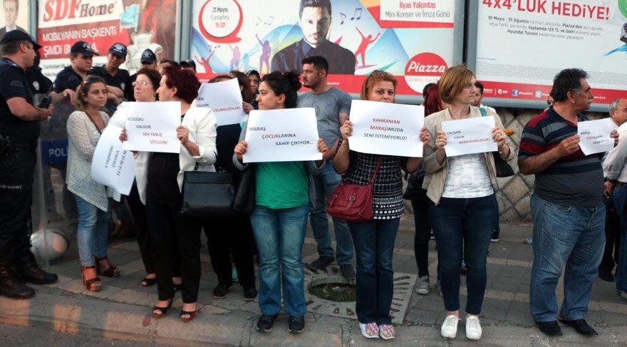 Nureddin Yıldız'a Kahramanmaraş'ta protesto