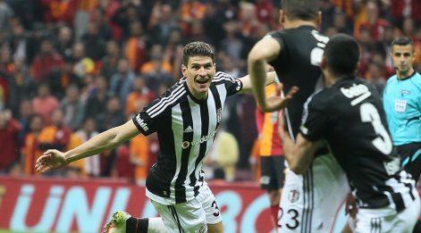 Galatasaray - Beşiktaş maç özeti ve golü izle! GS - BJK maçı 0-1 bitti!
