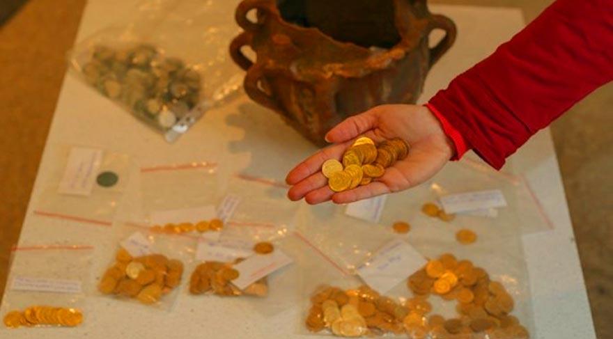 Bulduğu altın sikkeleri teslim eden işçiye ödül