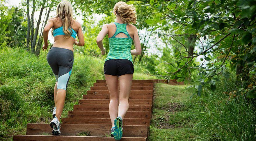 Merdiven çıkmak yorucu değil, sağlıklı