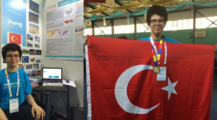 Türk öğrencinin bilgisayar programı dünya birincisi