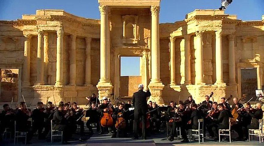 IŞİD'den kurtarılan harabeler müzikle hayat buldu