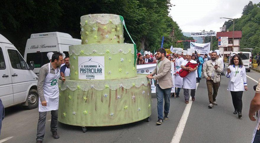 Rize'de pasta festivali