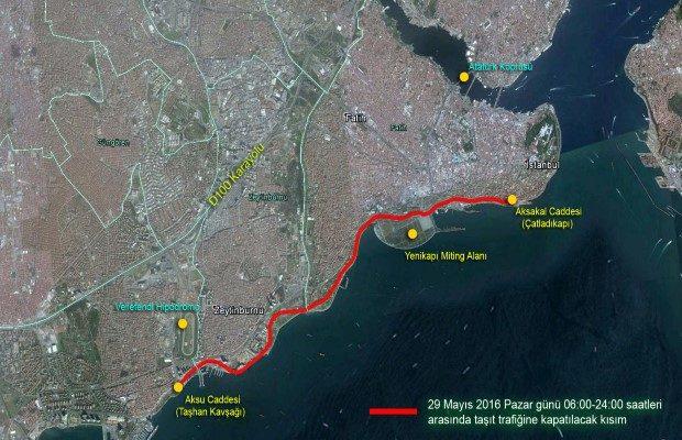 Istanbul trafigine fetih duzenlemesi