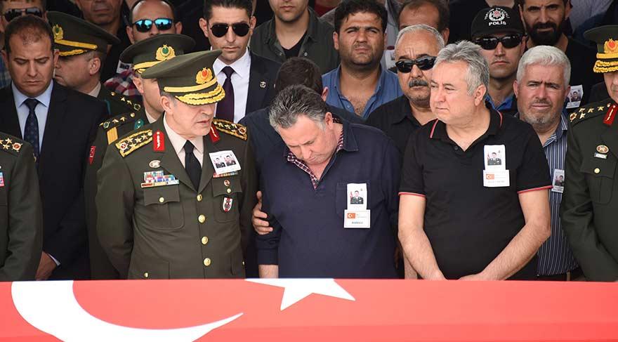 Şehit cenazesinde 'Şehzade Bilal' tepkisi