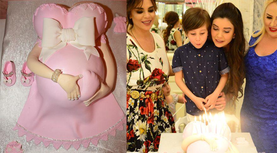 Selda Topal, arkadaşı Tuğba Şahin için bebek partisi düzenledi