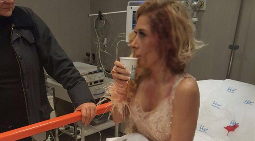 Şarkıcı Selen klip çekiminde kaza geçirdi ölümden döndü